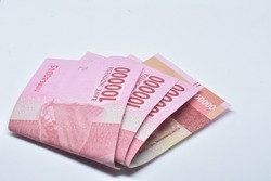 Indonesia Money Rupiah, 100.000 IDR, Indonesia Currency, Background Money Indonesia
