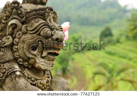 Indonesia - old hindu architecture on Bali island