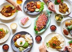 Indonesian Food Flat Lay