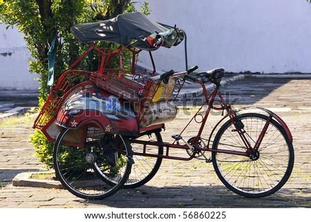 Indonesian Rickshaw (Becak)