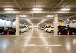 Indoor car parking/garage