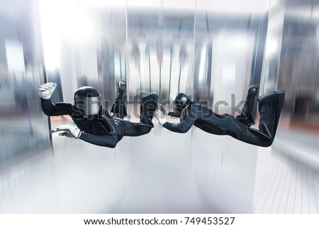 Indoor skydiving #749453527