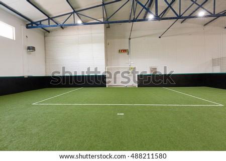 Indoor soccer or football field #488211580