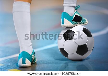 indoor soccer sports hall....