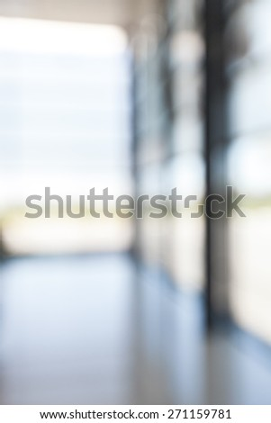 Indoors. Office Park - Lobby