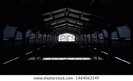 Industrial Background of a foundry