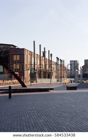 Industrial building complex #584533438