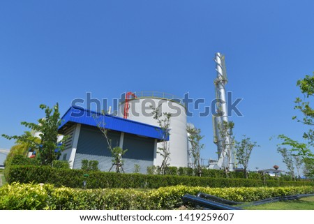 Industrial building, Oil Refinery, Chemical & Petrochemical Plant