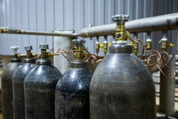 industrial carbon dioxide cylinders, industrial cylinders