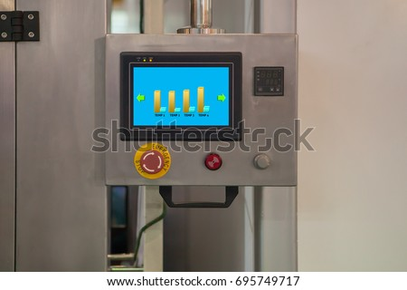 industrial color touchscreen...