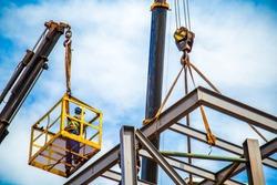 industrial construction worker frames