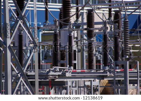 Industrial energy transmitters