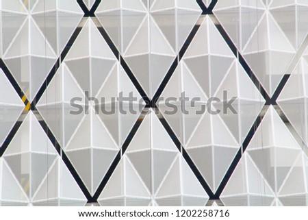 industrial geometric pattern #1202258716