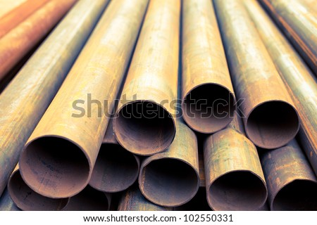 industrial iron pipes and steel tubes manufacturing fabric