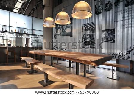 Industrial loft bar style #763790908