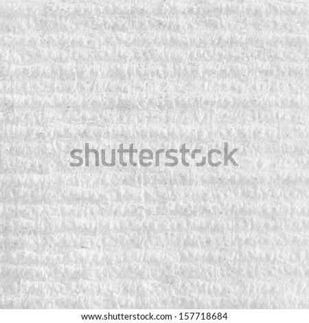 Industrial made white paper surface