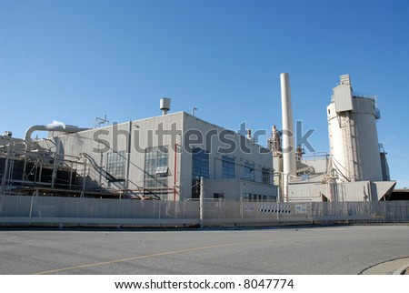 Industrial manufacturing plant, Santa Clara, California