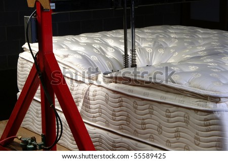 Industrial Mattress testing