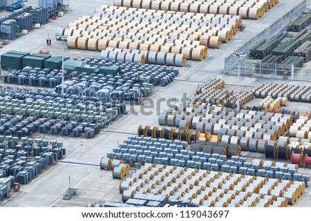 Industrial metal cylinders