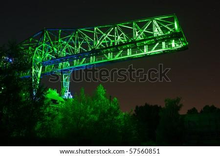 Industrial park Duisburg/Germany
