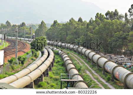 industrial pipeline