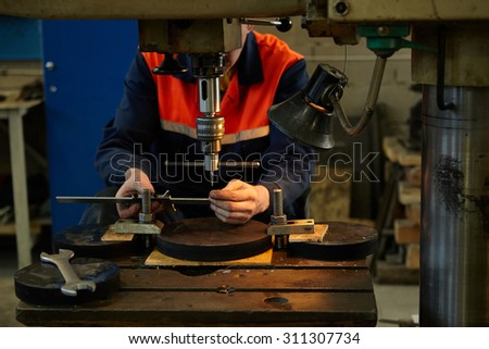Industrial production . Turning works . Manufacturing of parts. Details.