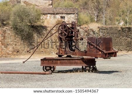 industrial revolution railway work machine remains #1505494367