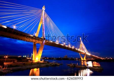 Industrial ring bridge of Thailand