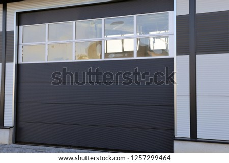 Industrial sectional door #1257299464