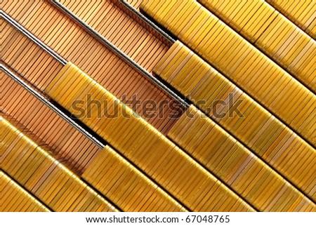 Industrial staples - stock photo