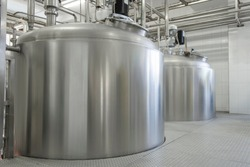 Industrial Sterilised Dairy Food Production Plant