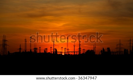 industrial sunset 1