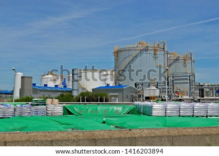 industrial tanks in industrial parks #1416203894