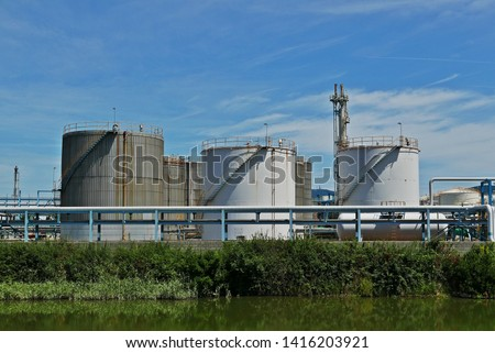industrial tanks in industrial parks #1416203921