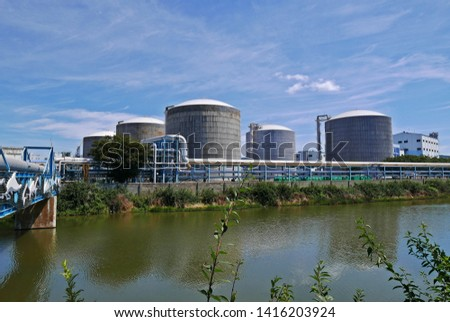industrial tanks in industrial parks #1416203924