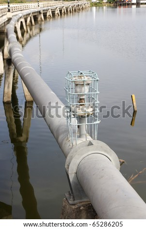 industrial water pipelines