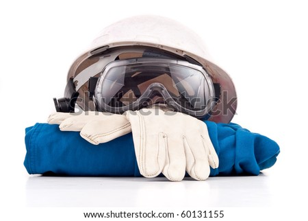 Industrial Work Place Safety Gear - stock photo