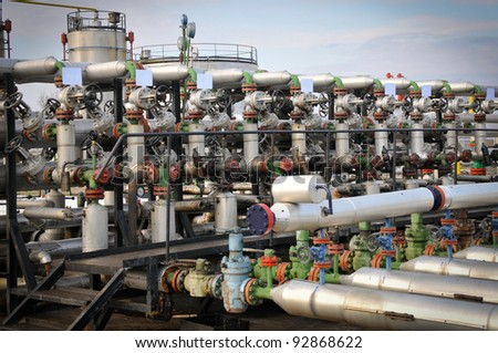 Industries of oil refining and gas