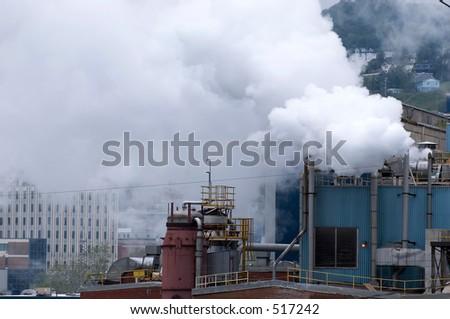 industry pollution 1 - city of St John, Newfoundland