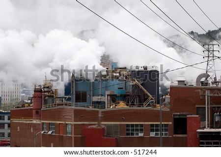 industry pollution 2 - city of St John, Newfoundland