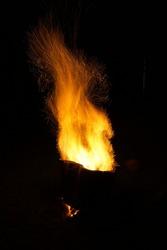 Inferno Flame Twist - Flame twirl up