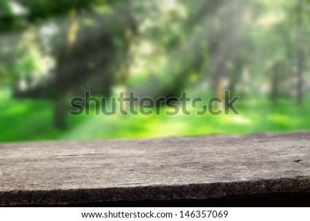 infinite green space