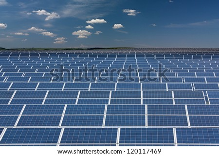 Infinite series of solar collectors
