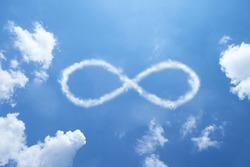 Infinity clouds shape.