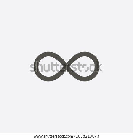 Infinity symbol icons illustration. Unlimited, limitless symbol, sign. Infinity icon jpg.