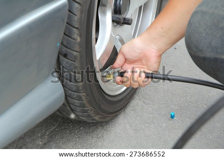 Inflate tires