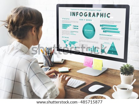 Infographic Global Business Marketing Plan Concept #485715877