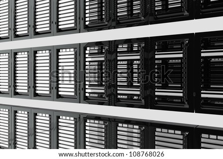 Informatic servers room