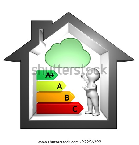 Information labeling index of dangerous substances emissions into indoor air