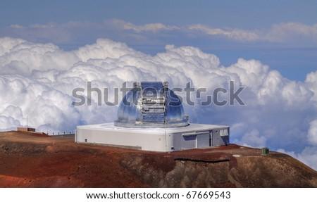 Infrared Telescope Facility (IRTF) at Mauna Kea (Big Island, Hawaii)